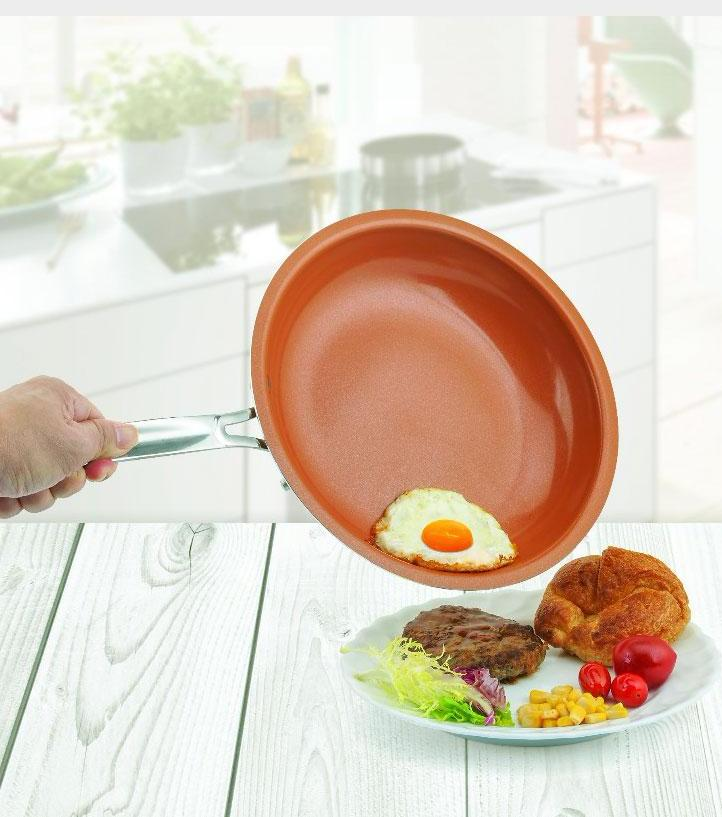 Non Stick Copper Pan As Seen On TV