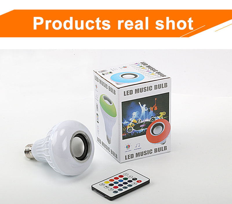 Smart LED Bulb With Audio Speaker