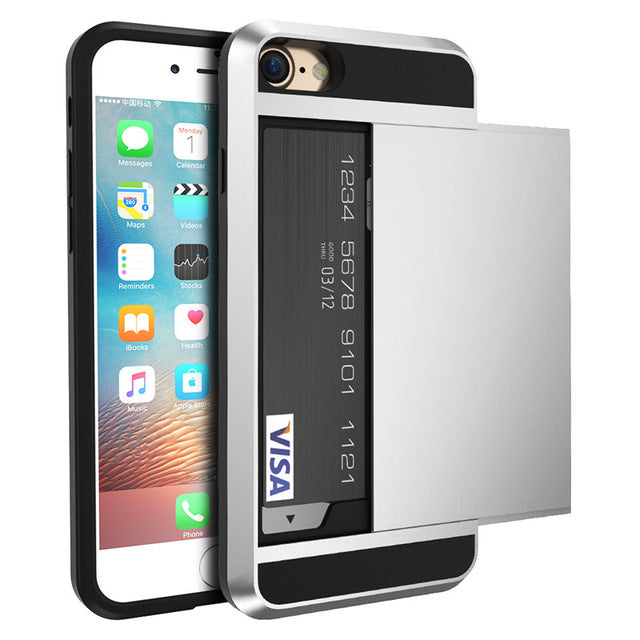 iPhone 8 & 8 Plus Case With Card Holder