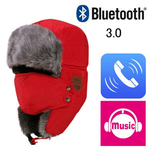 Bluetooth Bomber Hat - 50% OFF