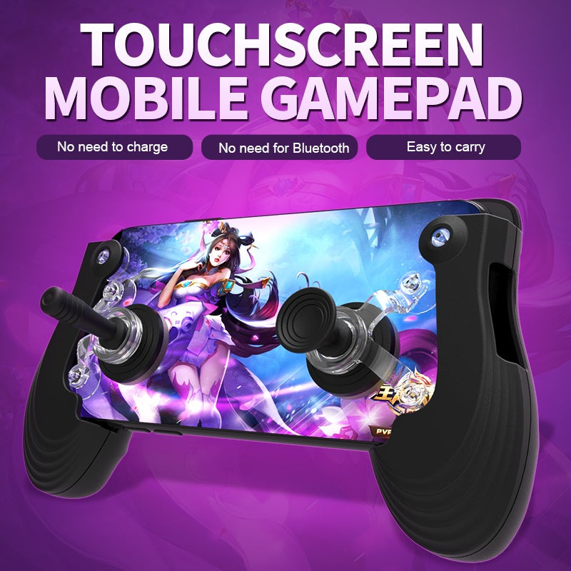 Mobile Touch Screen Gamepad With Pro Game Joystick