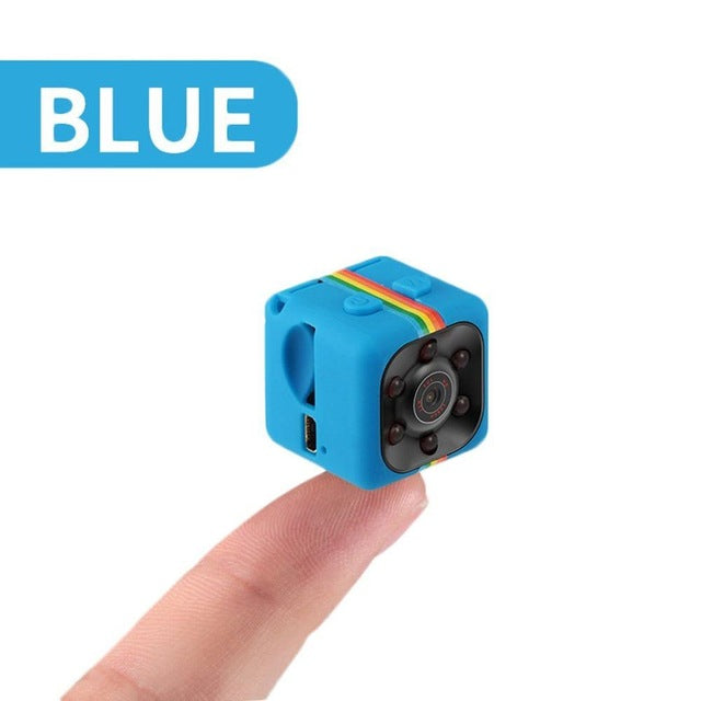 Mini Spy Hidden Camera With Night Vision and Motion Detective - 1080P Portable Small HD