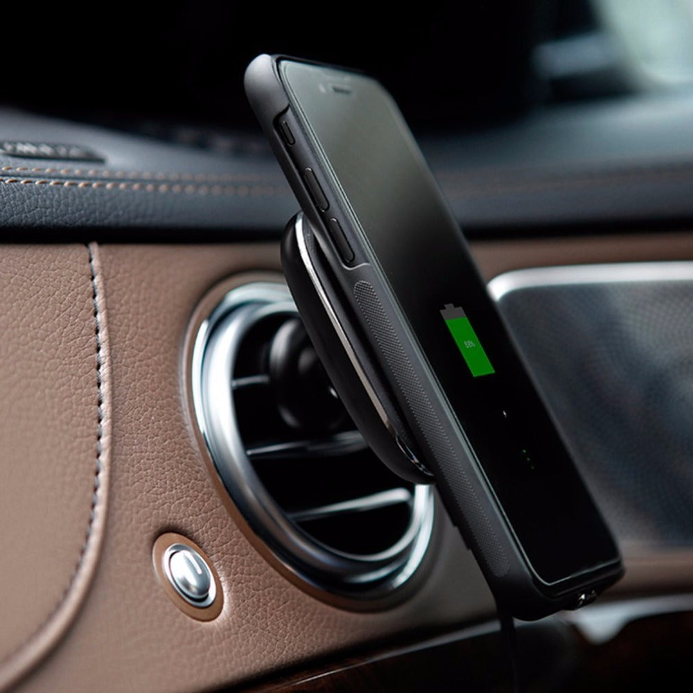 Car Qi Wireless Charger - Magnetic Qi Wireless Charger