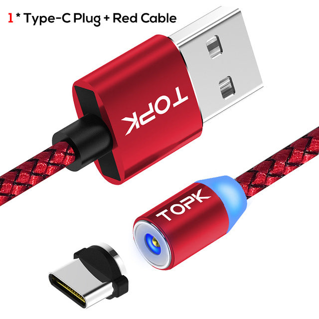 Magnetic USB Cable for Android & iPhone