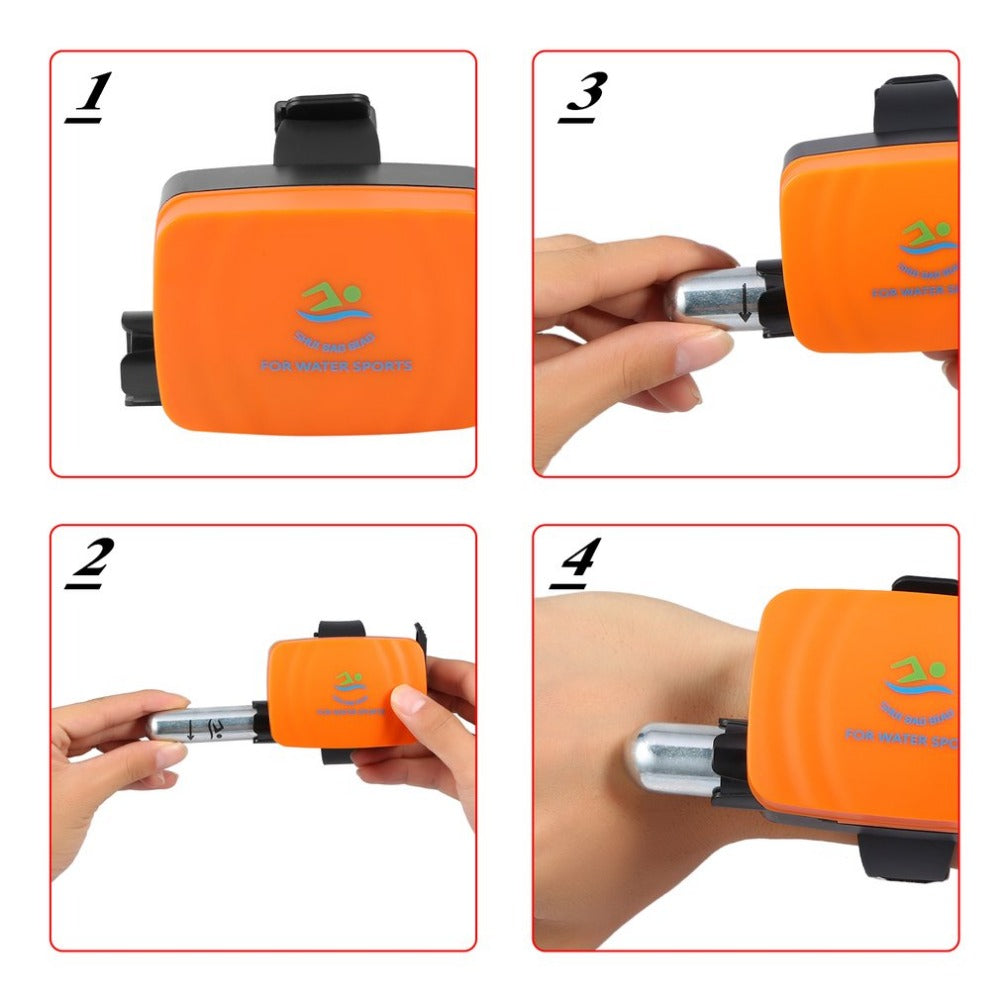 Anti Drowning Bracelet - Lifesaving Device