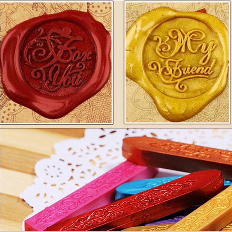 15 WAX SEAL STICKS - Wax for seal stamp