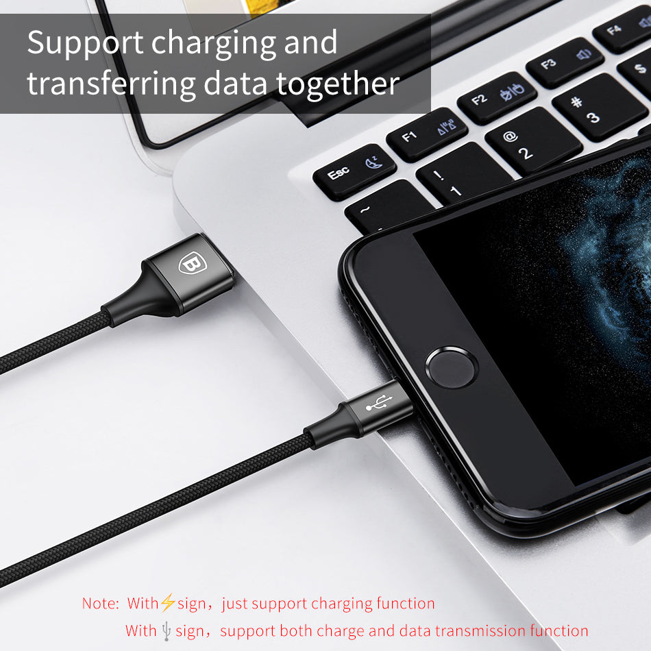 3 in 1 USB Cable For Type C, Micro USB & iPhone
