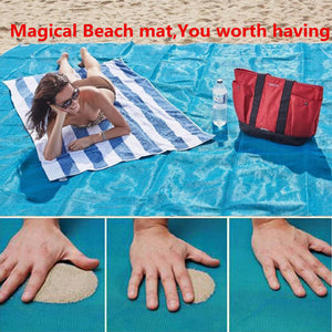 SAND PROOF BEACH MAT 200x200 cm - 50% OFF