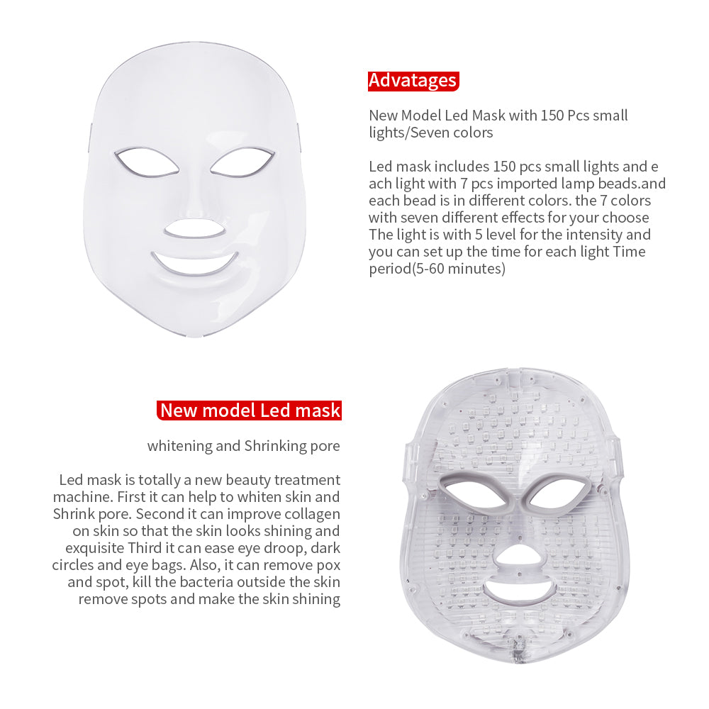 Photon 7 Colors LED Rejuvenation Mask