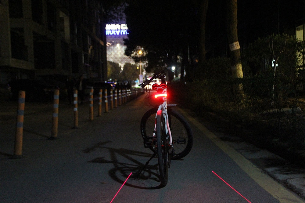 Smart Tail Light For Bike - With Wireless Remote