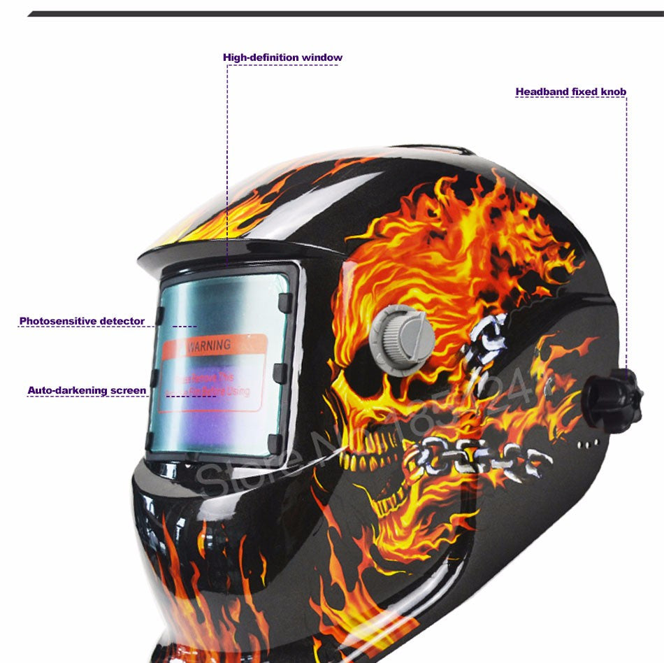 Ghost Rider Welding Mask / Helmet