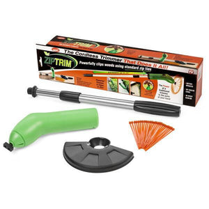 Zip Trim Cordless Weed Trimmer & Portable Grass Trimmer As Seen on TV
