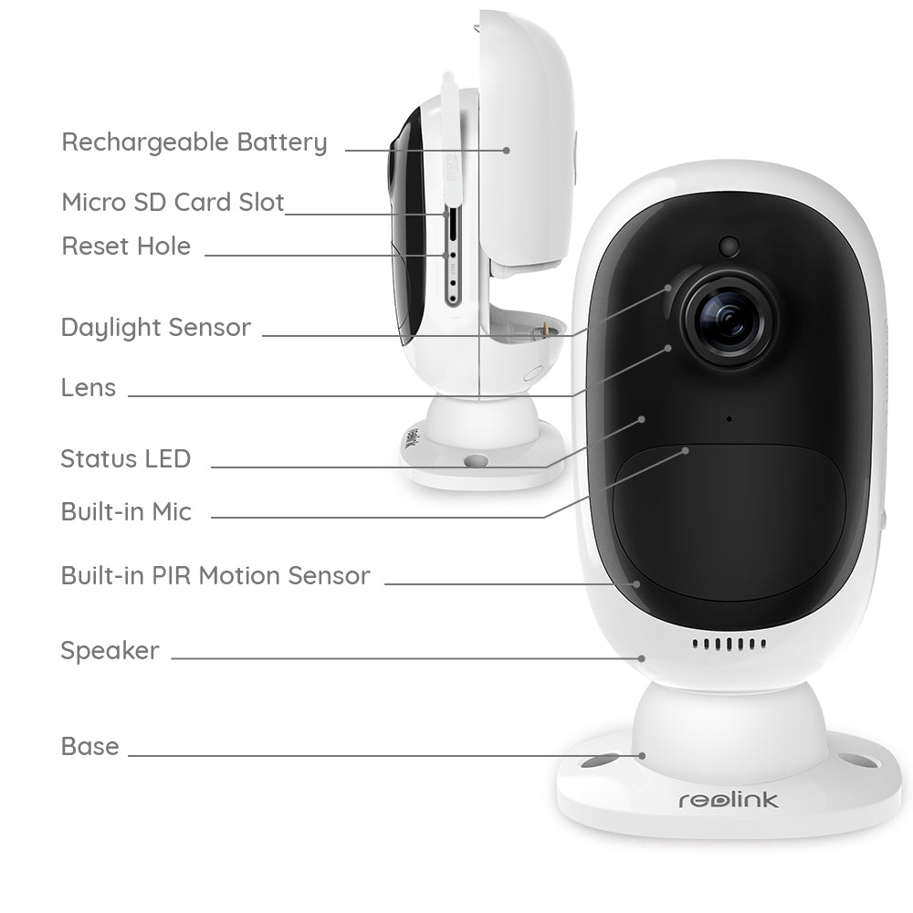 Smart IP Rechargeable Camera