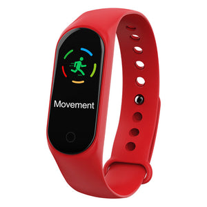M3S Colored Screen Smartband IP67 (Waterproof) & Heart Rate Sensor