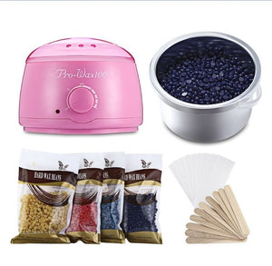 Painless wax heater & Painless Wax bean (4 pack)