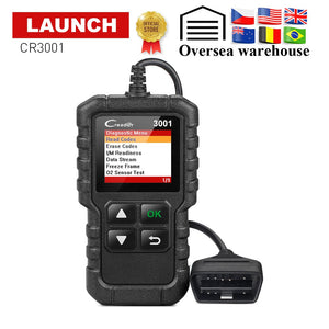 Full OBD2 Code Reader Professional Scan Tool