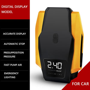 Digital Display Car Tire Inflator