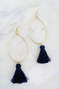 Simply Chic Tassel Earring