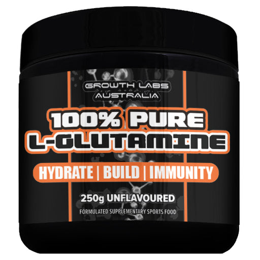 100% Pure L-Glutamine 250g by Growth Labs Australia