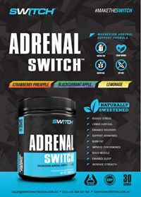 Adrenal Switch Infographic