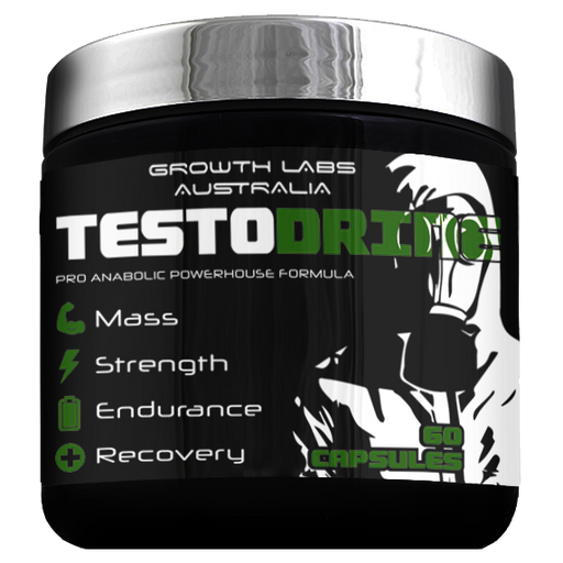 Testodrine by Growth Labs Australia 60 Serves