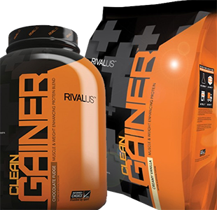 Clean Gainer 10lb by Rivalus