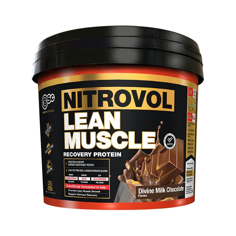 Nitrovol Lean Muscle 3kg by Body Science