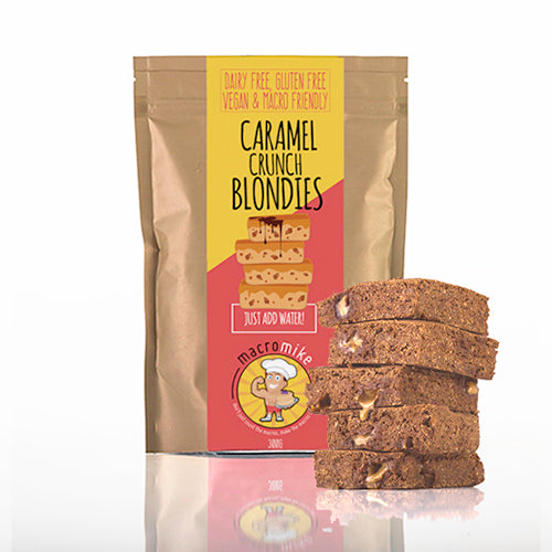 Macro Mike Blondies Dry Mix Caramel Crunch 300g
