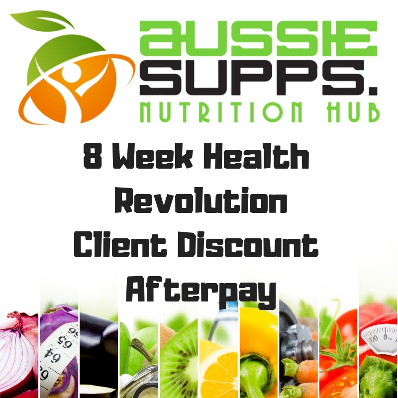 Aussie Supps Nutrition Hub 8 Week Health Revolution Client Discount Afterpay