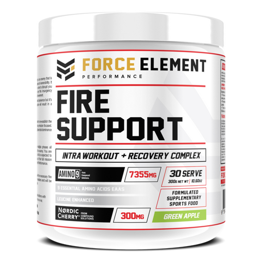 Fire Support Intra Workout + Recovery Complex by Force Element Performance