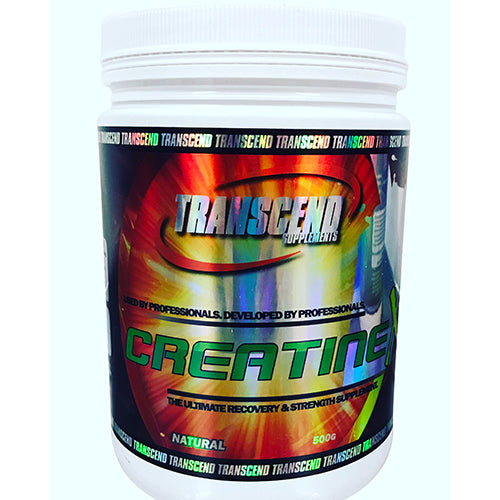 Creatine Monohydrate 500g by Transcend Supplements