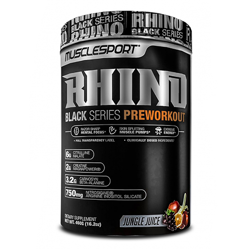 Rhino Black Series by Muscle Sport