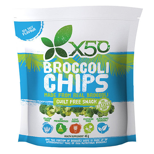 Broccoli Chips 60g by X50