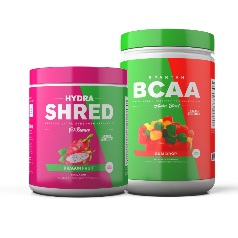 Hydra Shred + Spartan BCAA Stack by Sparta Nutrition
