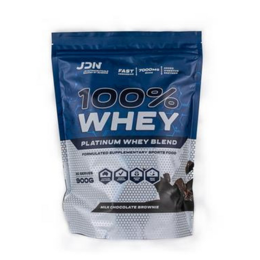 100% Whey Protein 900g by JD Nutraceuticals - 30 Serves