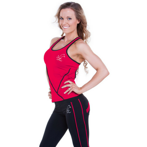 Leeshyloo Activewear Pursuit Singlet