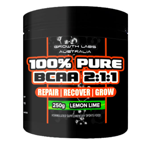 100% Pure BCAA 2:1:1 by Growth Labs Australia
