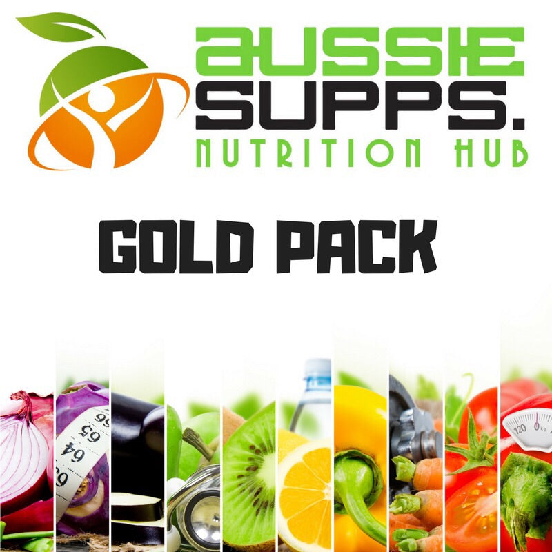 Aussie Supps Nutrition Hub - Gold Pack (AfterPay)