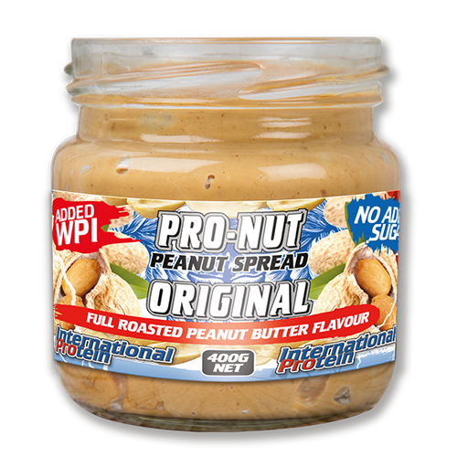 Pro Nut High Protein Peanut Spread by International Protein