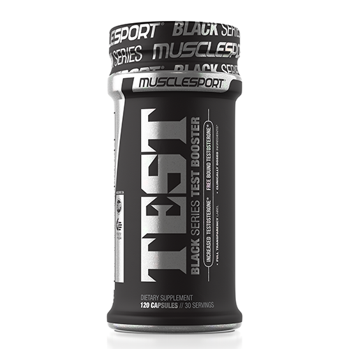Muscle Sport Test Black