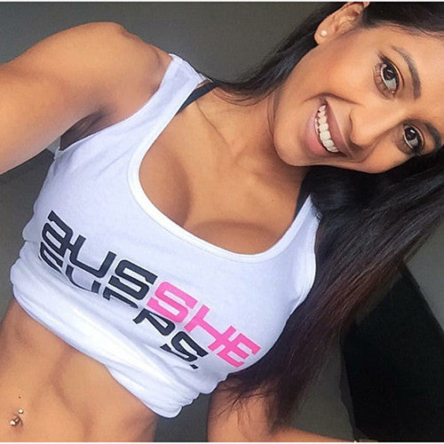 AUSSHE SUPPS Singlet White