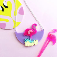 Revere Folie - Flamingo Fun Necklace
