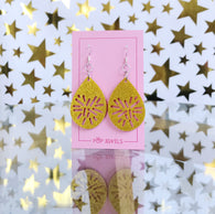 Pop Jewels - Carol of the Bells - Gold Glitter Bauble