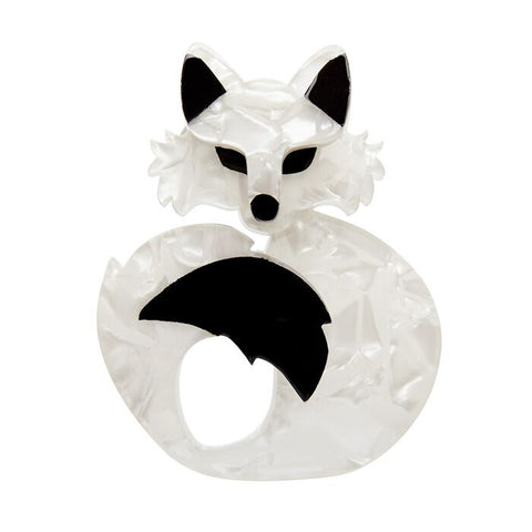 Erstwilder: She's So Foxy Brooch
