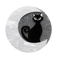 Erstwilder: Cara The Halloween Kitty Brooch