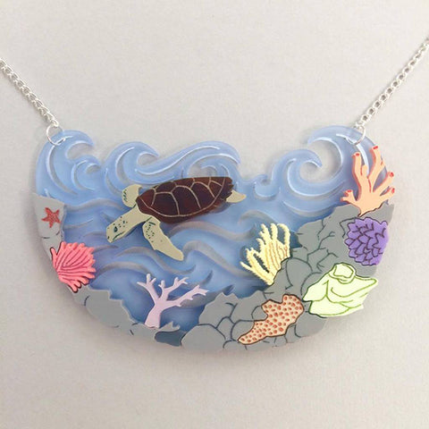 Kimchi & Coconut: Great Barrier Reef Necklace