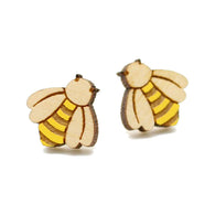 Layla Amber: Bumble Bee Earrings