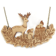 Layla Amber: Forest Friends Necklace