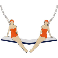 Lou Taylor: Diving Girl Necklace