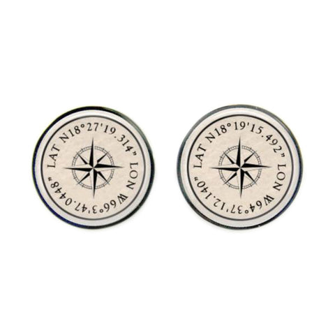 Max & Me Designs: Co-ordinates Cufflinks